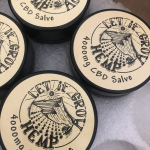 4000mg CBD Salve