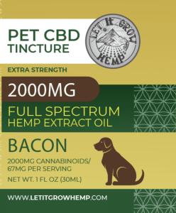 CBD Pet Tincture   High Strength CBD for Pets