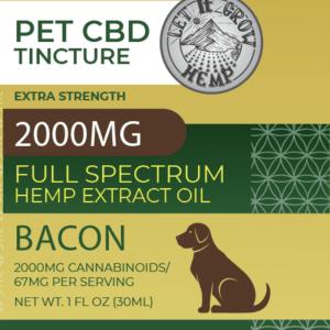 CBD Pet Tincture | High Strength CBD for Pets