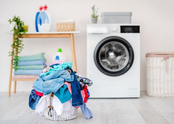 using liquid castile soap as laundry detergent