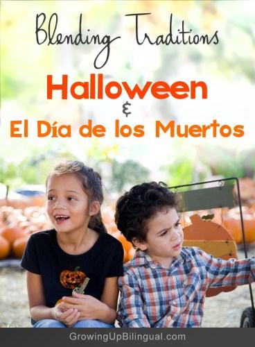 Halloween and El Dia de los Muertos blending traditions