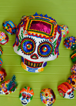 sugar skull Dia de los Muertos Day of the Dead