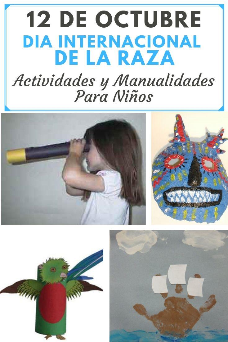 12 de Octubre Dia de la Raza manualidades y actividades para niños