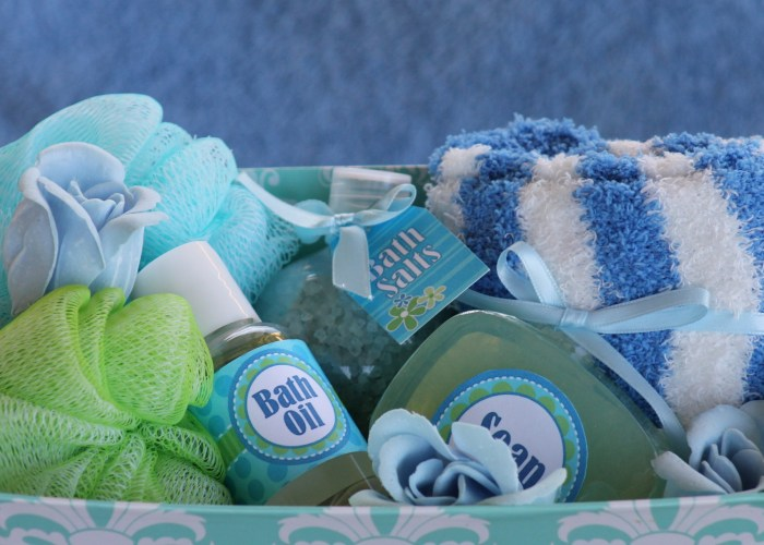 Spa Themed Gift Baskets