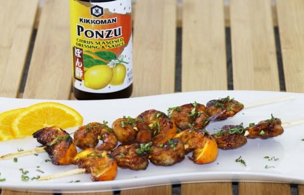 Kikkoman's Ponzu sauce really kicked up the flavor.