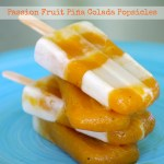 passion fruit piña colada popsicles ice pops