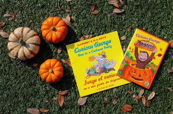 curious geroge halloween boofest