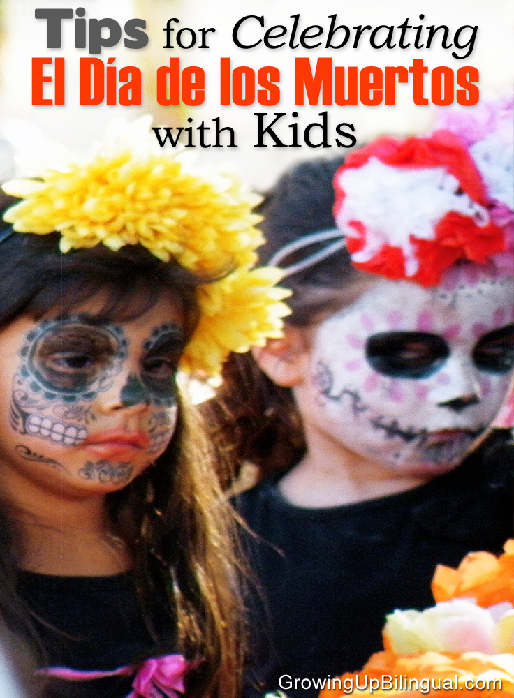 dia de los muertos day of the dead children