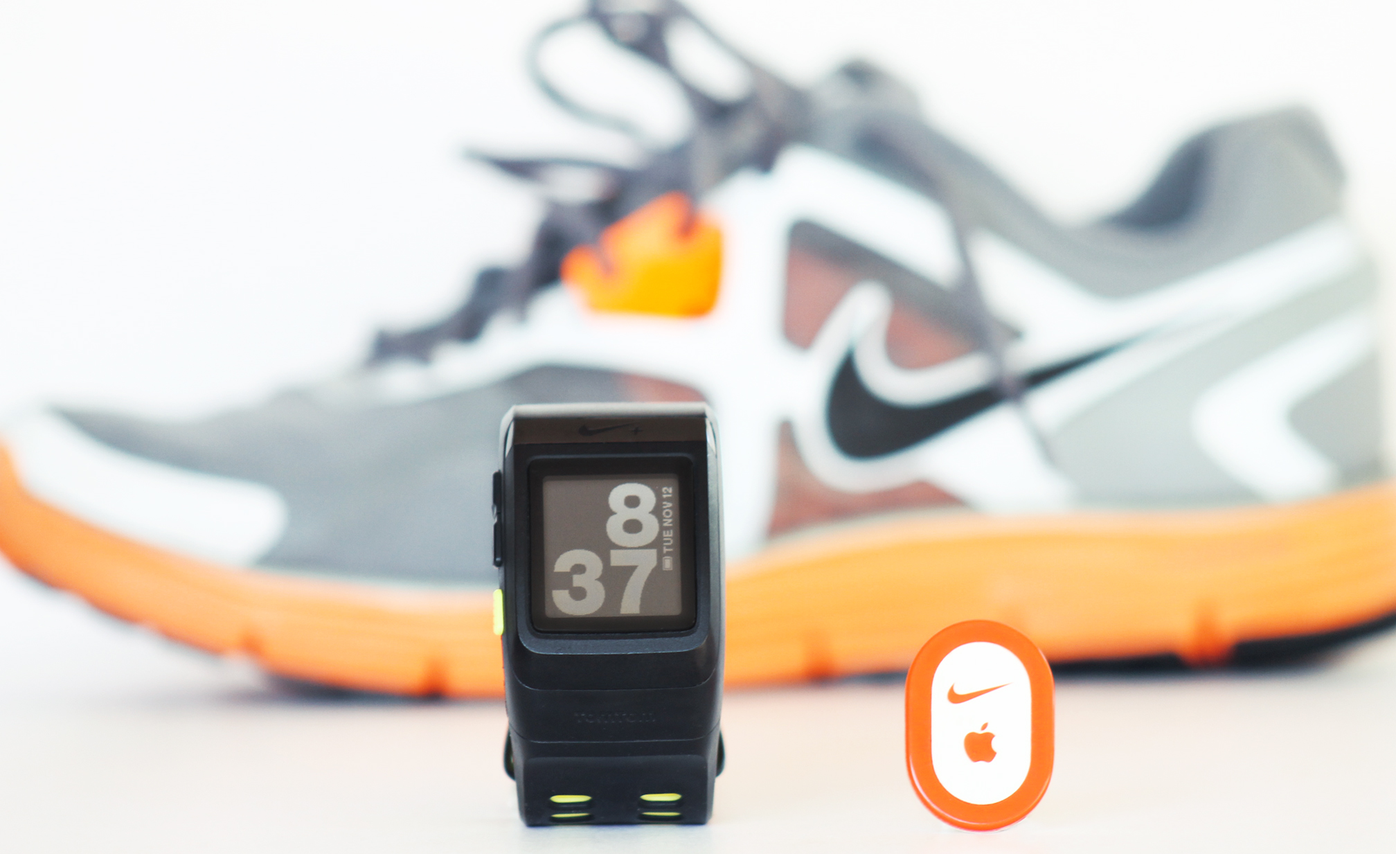 The Nike+ SportWatch and the Nike+