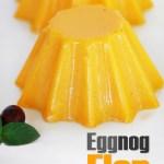 eggnog flan