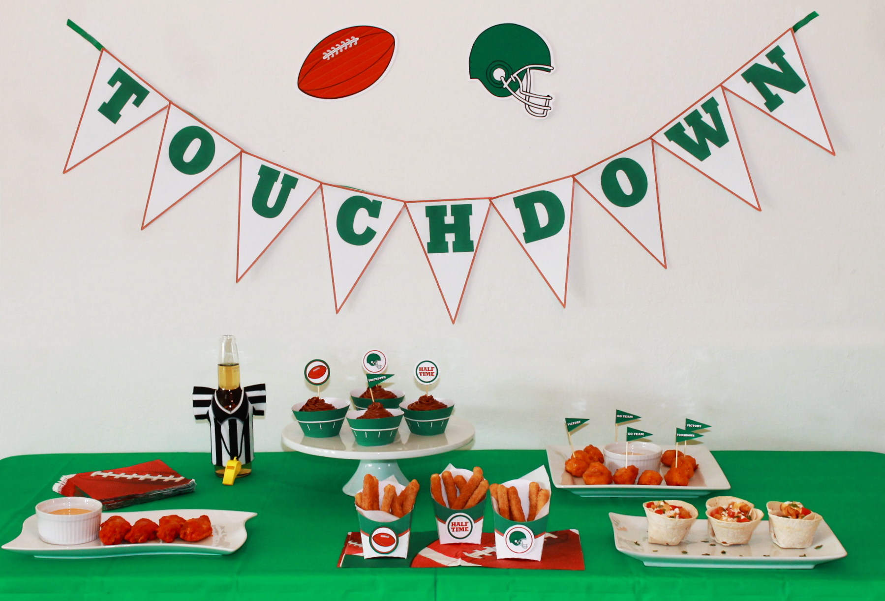 Ad Game Day Recipes Big Game Party Fun And Free Printables