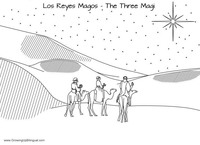 Three Kings Day Dia de Reyes printable free