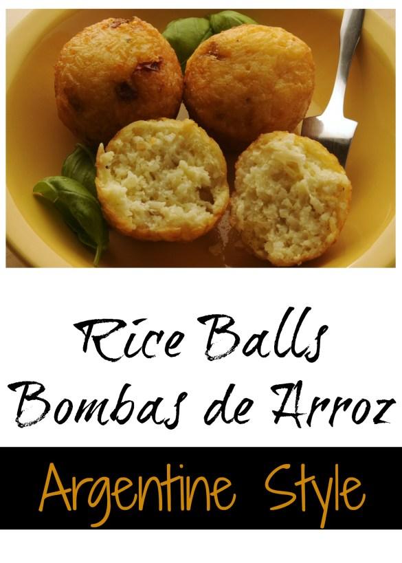 Rice Balls - Bombas de arroz