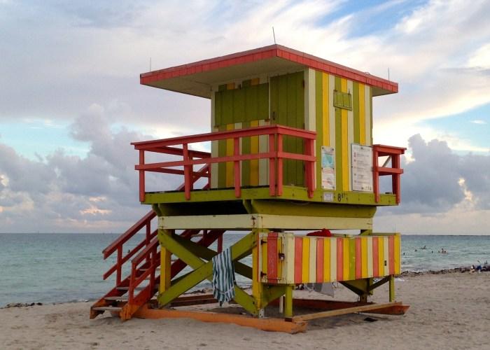 Las Famosas Torres de Salvavidas de Miami Beach