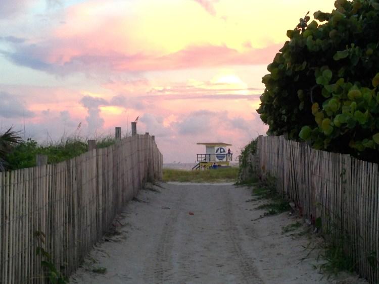 Miami Beach lifeguard towers funky colorful fun
