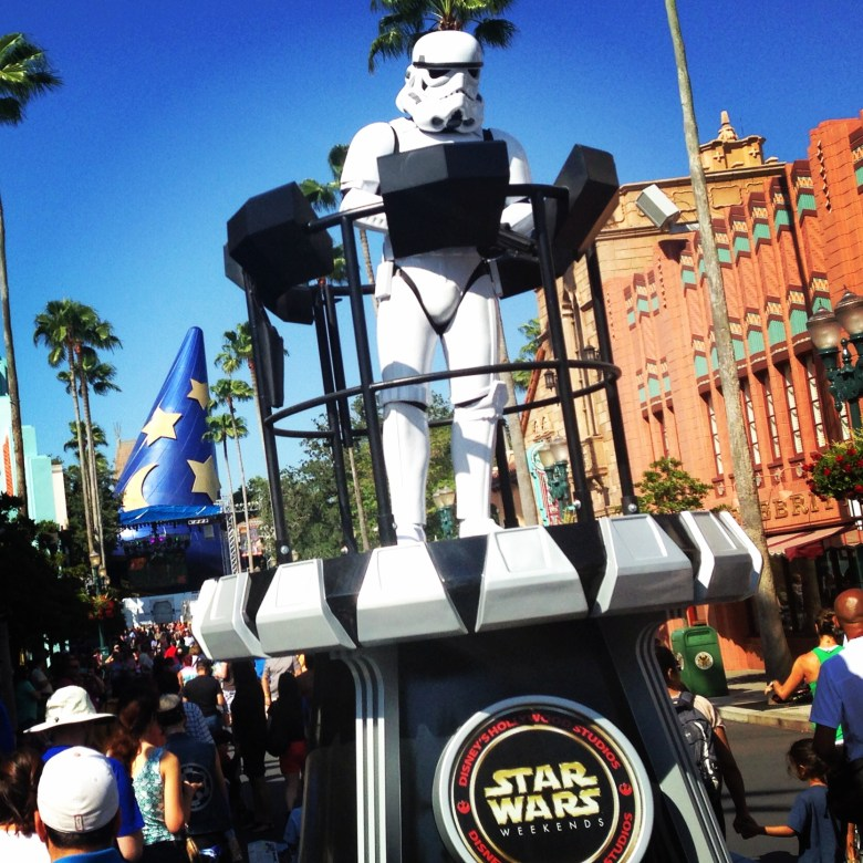 Star Wars Weekends Disney Hollywood Studios Parade