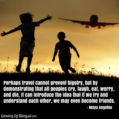 Travel quote Maya Angelou