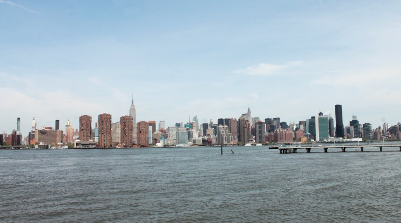 View of Manhattan from Greenpoint Brooklyn