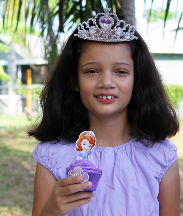 Disney Sofia the First Party Cupcake