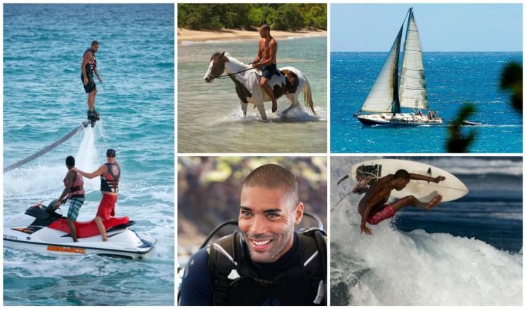 Guadeloupe Islands water sports