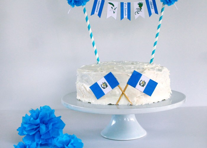 Celebrating Guatemala's Independence : Free Party Printables And Cake Banner for All Central American Countries!