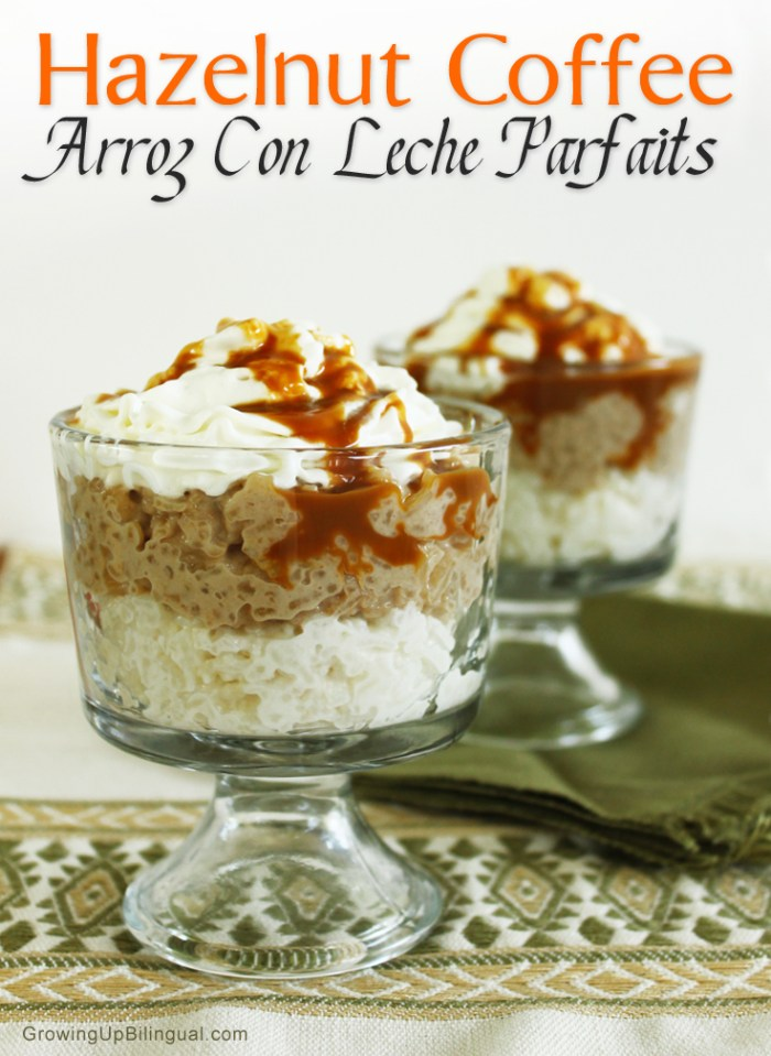 Hazelnut Coffee Arroz Con Leche