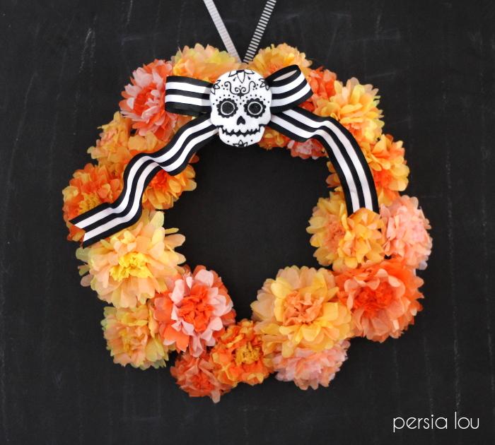 dia de los muertos wreath persia lou 5