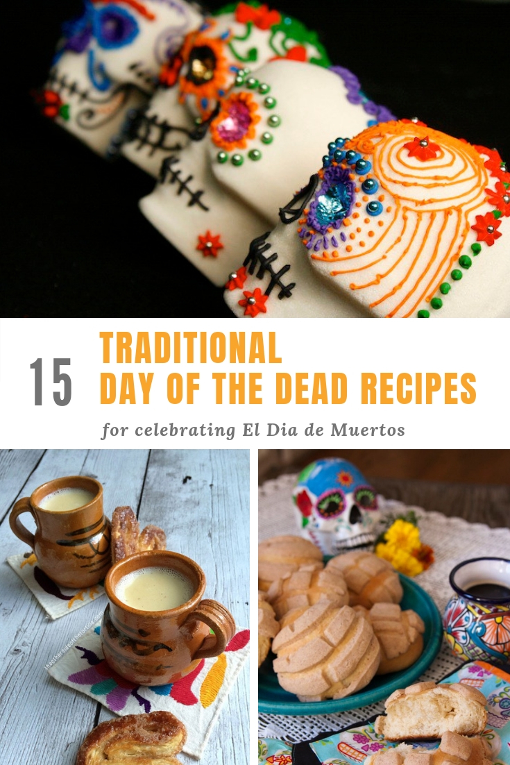 15 traditional Day of the Dead recipes to celebrate Dia de Muertos