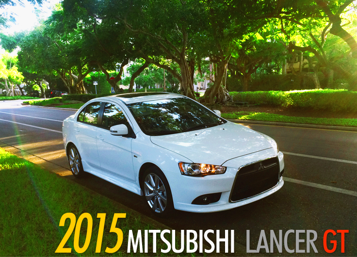 fun times with the all new mitsubishi lancer gt 2015. Black Bedroom Furniture Sets. Home Design Ideas