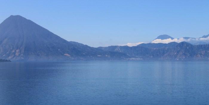 Lake Atitlán view from San Antonio Palopo