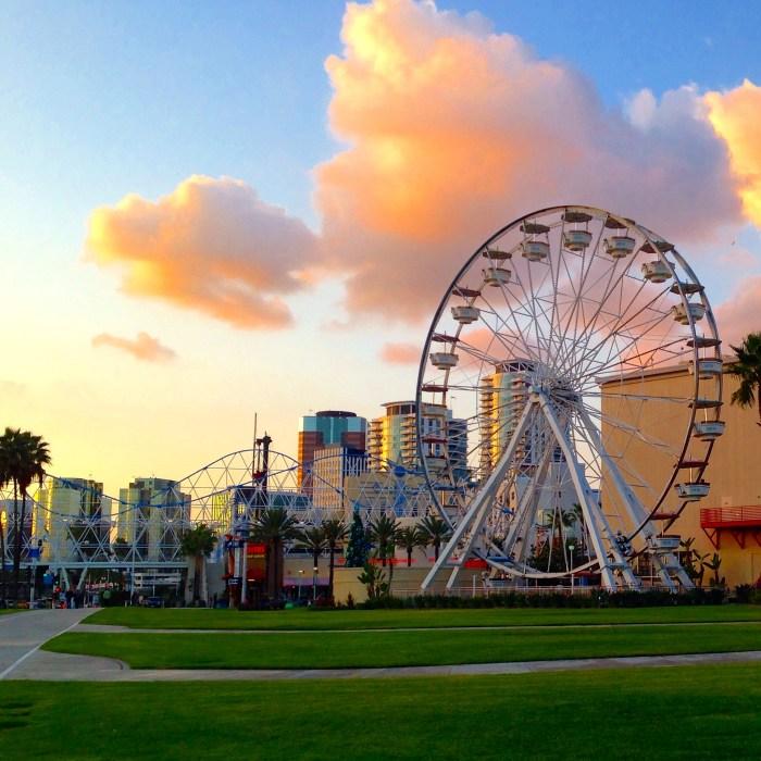 Ferris Wheel Long Beach California