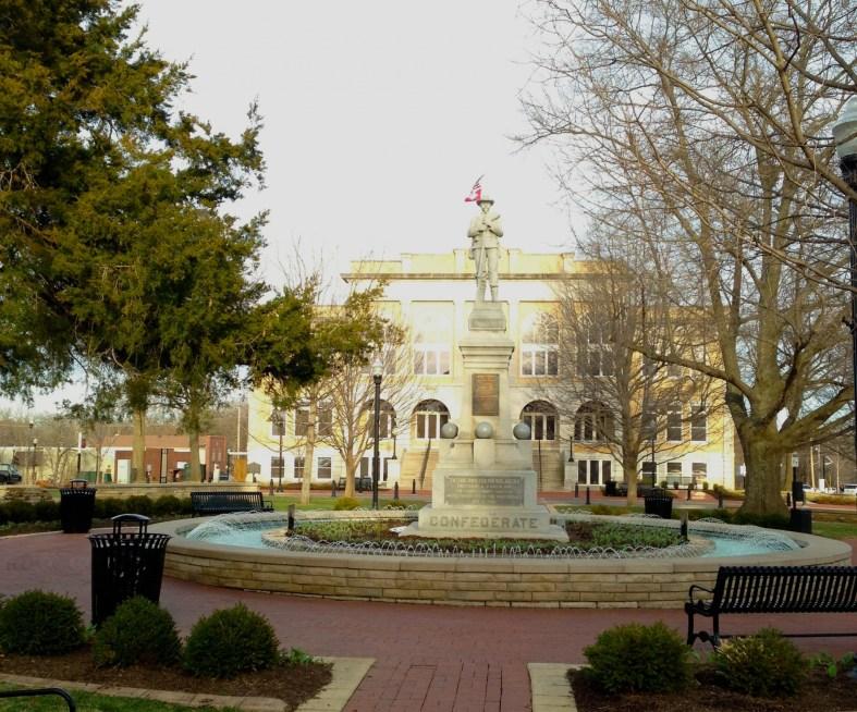 Bentonville Arkansas main square