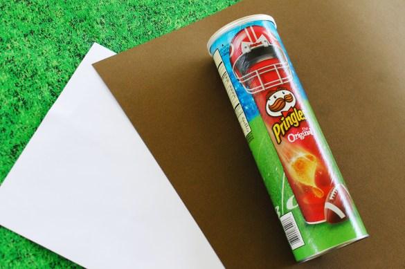 materials for DIY football centerpiece