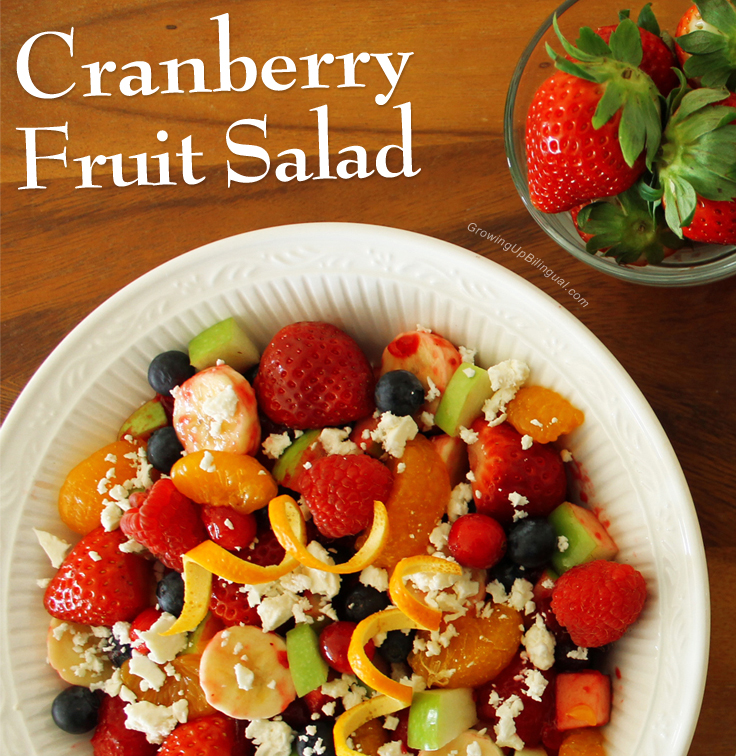 Cranberry Fruit Salad