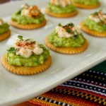 Spicy chipotle avocado and crab bites