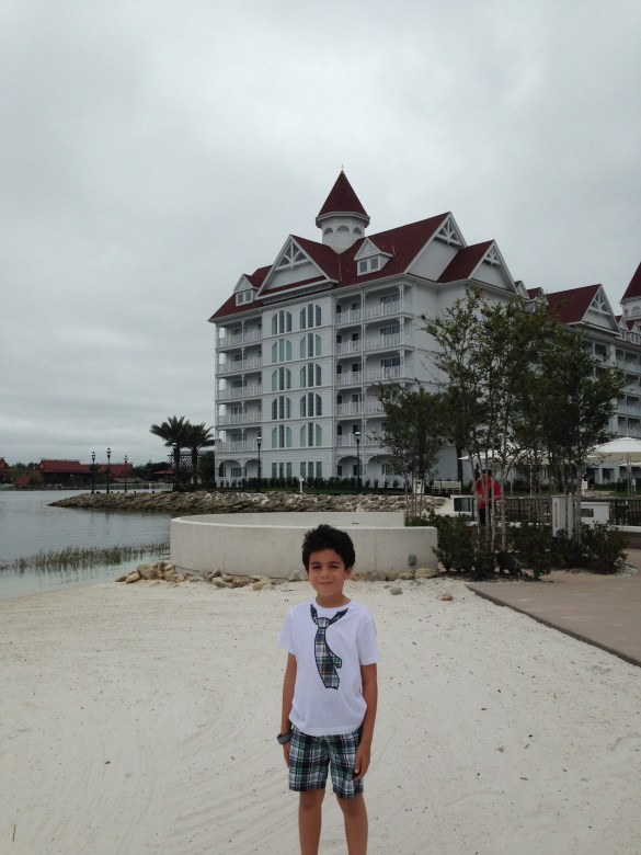 Beach at the Grand Floridian Resort