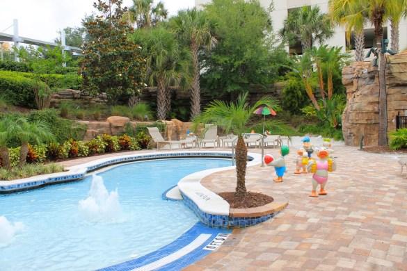 pool area at the Hyatt Regency Orlando