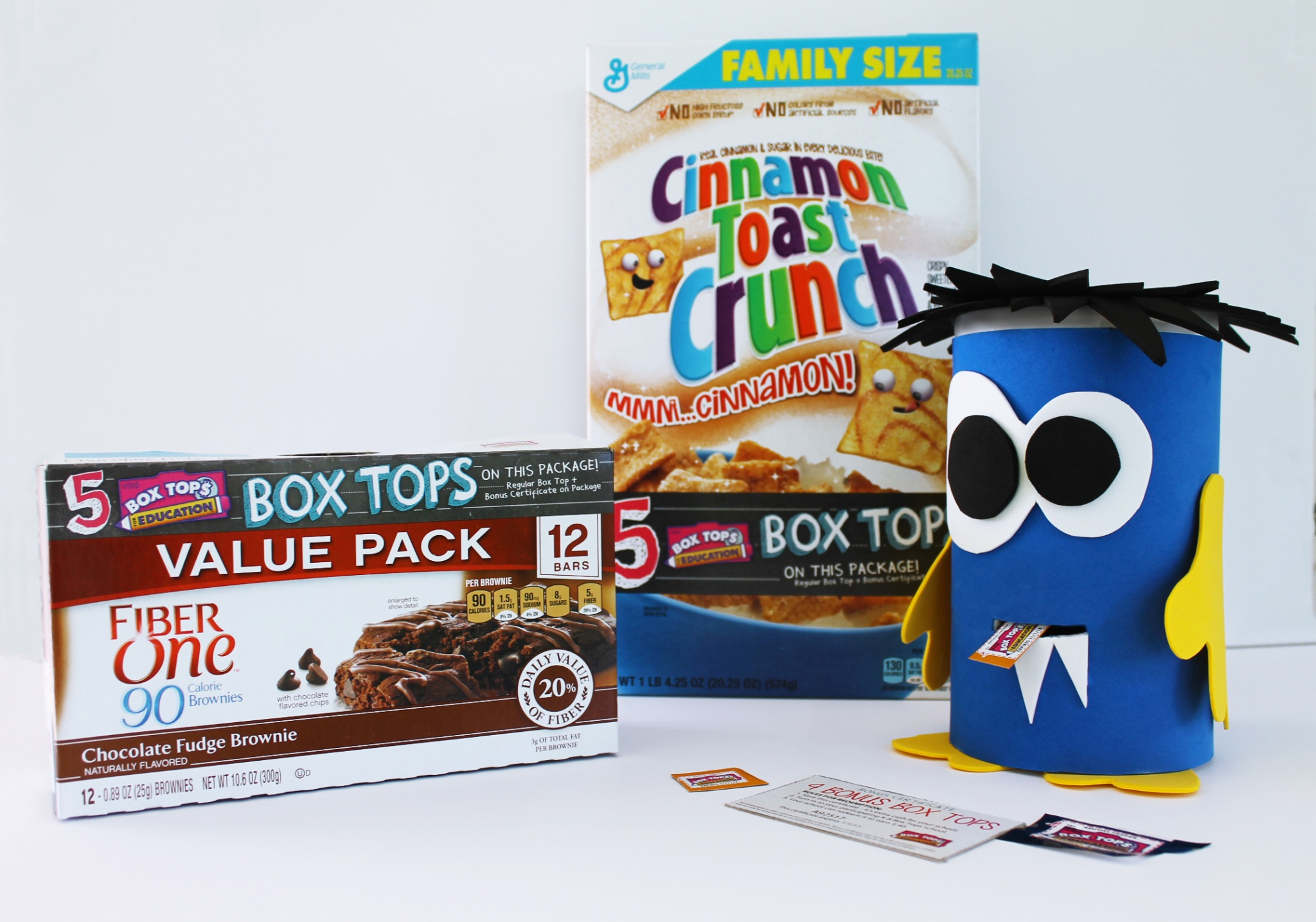 Diy Monster For Collecting Your Boxtops For Education