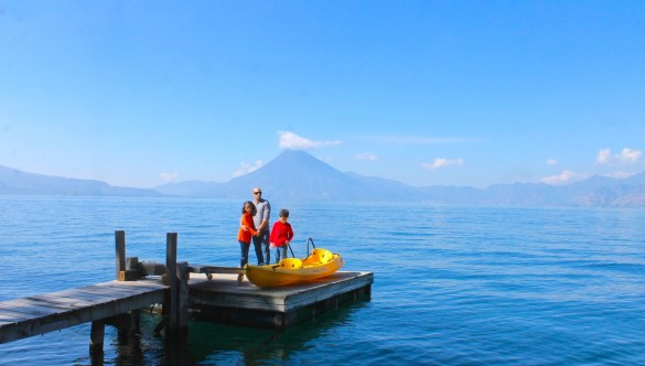 Lake Atitlán in Guatemala is truly a magical place