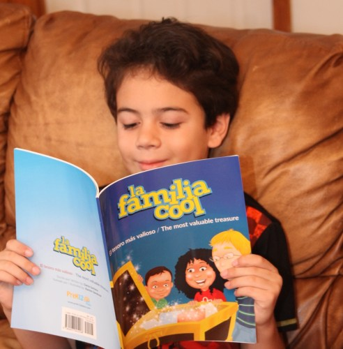 The Most Valuable Treasure: A Bilingual Book That Helps Kids Embrace Their Latino Heritage
