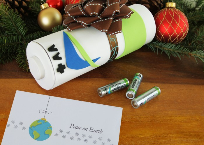 Gifting Batteries For The Holidays: Make It Fun With This DIY Gift Box