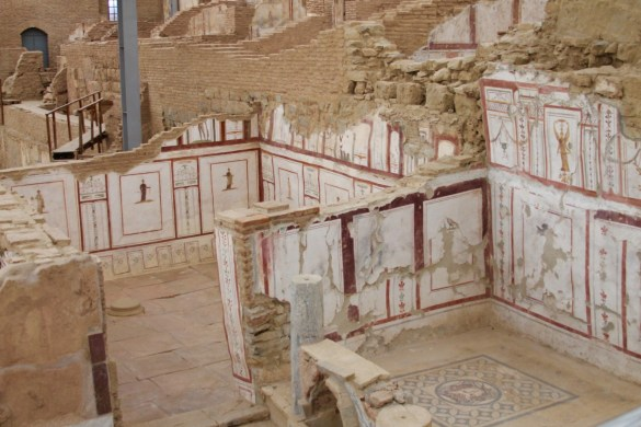 Terrace houses in Ephesus