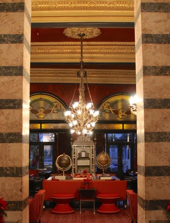 Pera Palace Jumeirah lobby