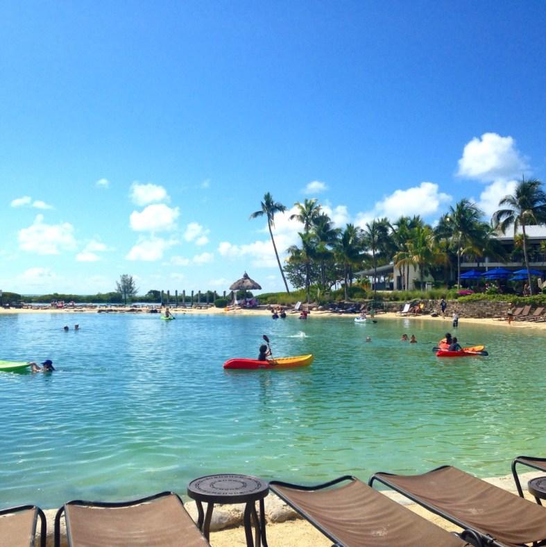Hawks Cay saltwater lagoon