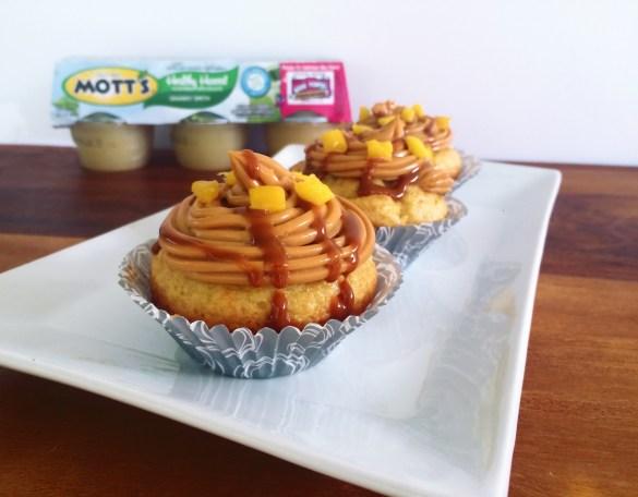 Mango Dulce de Leche Cupcakes with Mott's Applesauce