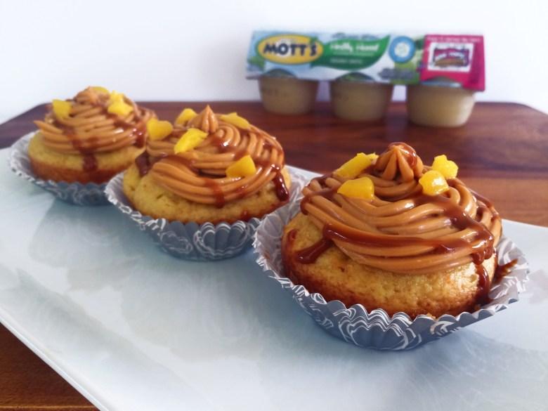 Mango Dulce de Leche Cupcakes with Mott's Applesauce 2