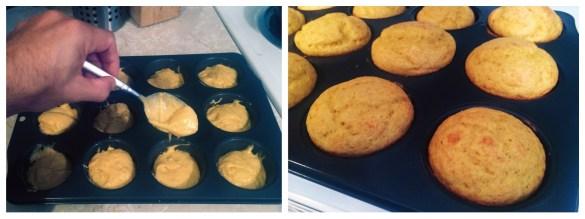 cooking Mango Dulce de Leche Cupcakes