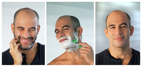 Three Steps shaving