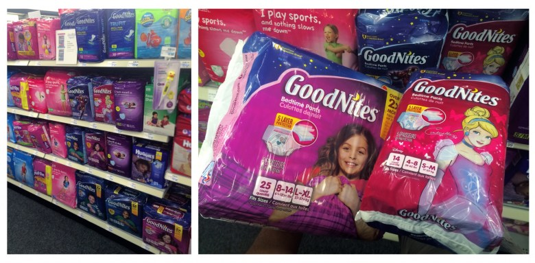 Goodnites at CVS