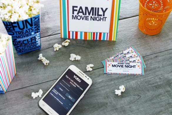 DIY Movie night Printables with Samsung